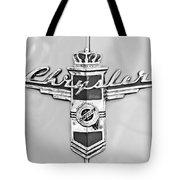 1948 Chrysler Town And Country Sedan Emblem Tote Bag