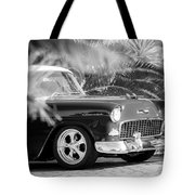 1955 Chevrolet 210 Tote Bag by Jill Reger