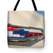 1955 Chevrolet Belair Emblem Tote Bag