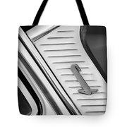 1955 Lincoln Capri Emblem Tote Bag