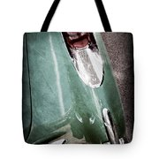 1957 Chevrolet Corvette Taillight Tote Bag