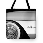 1957 Chevrolet Corvette Wheel Emblem Tote Bag