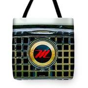 1959 Nash Metropolitan Grille Emblem Tote Bag
