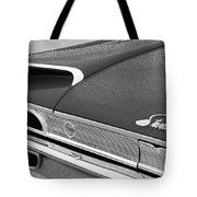 1960 Ford Galaxie Starliner Taillight Emblem Tote Bag