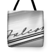 1963 Ford Falcon Futura Convertible   Emblem Tote Bag