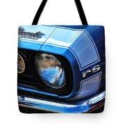 1967 Chevy Camaro Rs Tote Bag