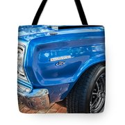 1967 Plymouth Belvedere Gtx 440 Painted  Tote Bag