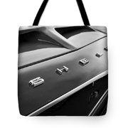 1968 Shelby Gt350 Hood Emblem Tote Bag