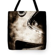 1969 Ford Mustang Boss 429 Sportsroof Side Emblem Tote Bag