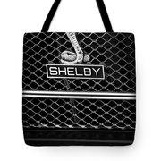 1969 Shelby Gt500 Convertible 428 Cobra Jet Grille Emblem Tote Bag