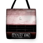 1972 Ferrari 365 Gtb-4a Grille Emblem Tote Bag