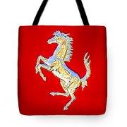 1999 Ferrari 550 Maranello Stallion Emblem Tote Bag
