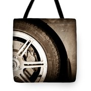 2005 Lotus Elise Wheel Emblem Tote Bag