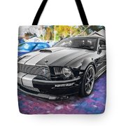 2007 Ford Mustang Shelby Gt Painted  Tote Bag