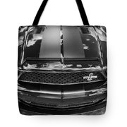 2008 Ford Shelby Mustang Gt500 Kr Painted Bw  Tote Bag