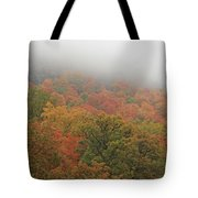 A Foggy Autumn Day At The United States Military Academy At West Tote Bag