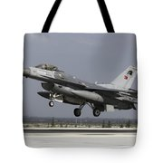 A Turkish Air Force F-16c Fighting Tote Bag