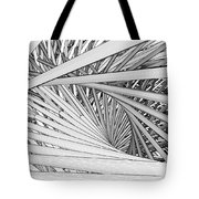 Abstract Urban City Building In Chaos Tote Bag