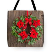Advent Wreath With Winter Rose Tote Bag