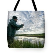 Adventures In Aniakchak, Ak Tote Bag