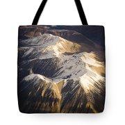 Aerial Mountains Tote Bag
