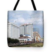 Aerial Of Downtown Atlantic City Tote Bag