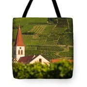 Alsace Church Tote Bag