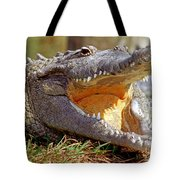 American Crocodile Tote Bag
