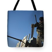 An Afghan National Army Soldier Tote Bag