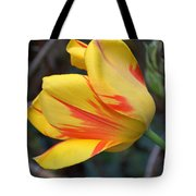 Tulip In The Wind Tote Bag
