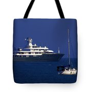 Antibes - Superyachts Of Billionaires Tote Bag
