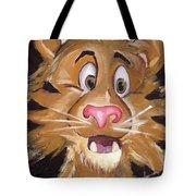 Tiger Art Tote Bag