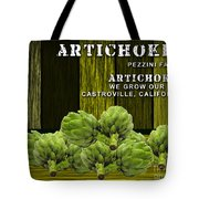 Artichokes Farm Tote Bag