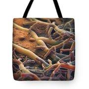 Athletes Foot Fungus Tote Bag