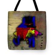 Atlanta Map Watercolor Tote Bag