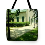 Aurora Transportation Center Tote Bag