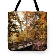 Autumn Awaits Tote Bag