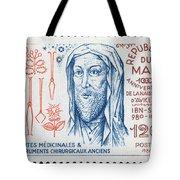 Avicenna (ibn-sina) Tote Bag