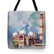 Badshahi Mosque Tote Bag