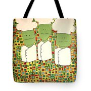 3 Bakers Tote Bag