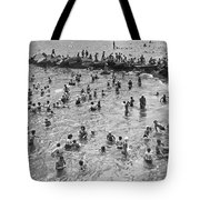Bathers At Coney Island Tote Bag