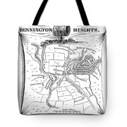 Battle Of Saratoga, 1777 Tote Bag