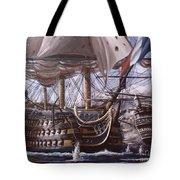 Battle Of Trafalgar Tote Bag