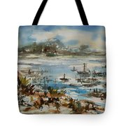 Bay Scene Tote Bag
