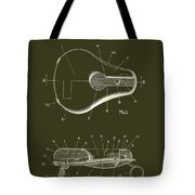 Bicycle And Motorcycle Seat 1925 Patent Tote Bag