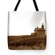 Block Island North Lighthouse Tote Bag
