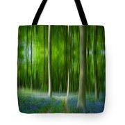 Blue Bell Art Digital Art Tote Bag
