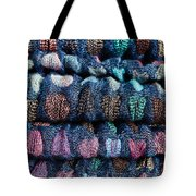 Blue Cloth Tote Bag