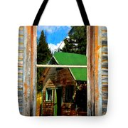 Blurring The Lines Tote Bag