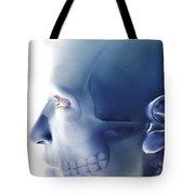 Bones Of The Face Tote Bag